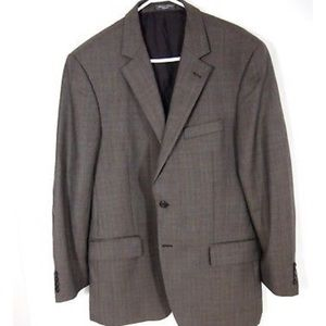 Loro Piana Suit Blazer 44L Super 110s 100% Wool